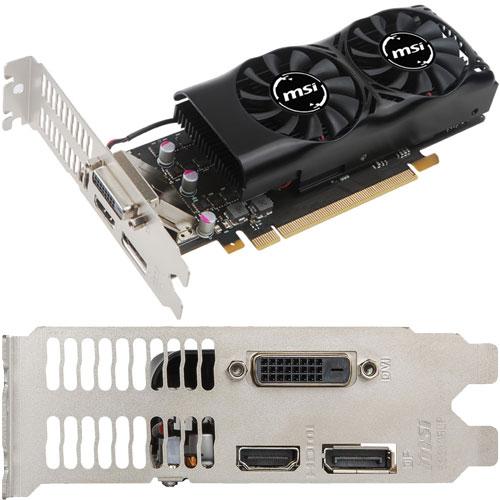 MSI Computer GeForce GTX 1050 2GT LP