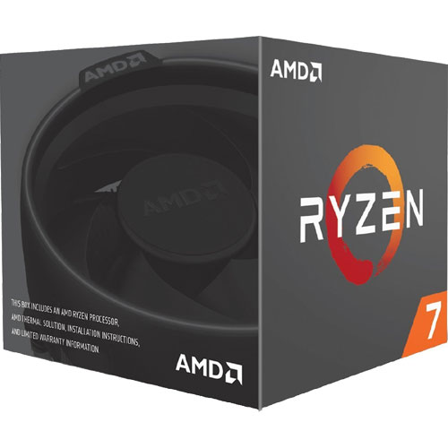 AMD YD1700BBAEBOX [Ryzen 7 1700 (8コア/3.0GHz/TDP 65W) with Wraith Spire 95W cooler BOX]