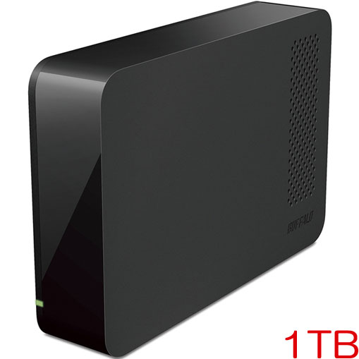 バッファロー DriveStation HD-LC1.0U3-BKF [USB3.1用 外付HDD 1TB ブラック]