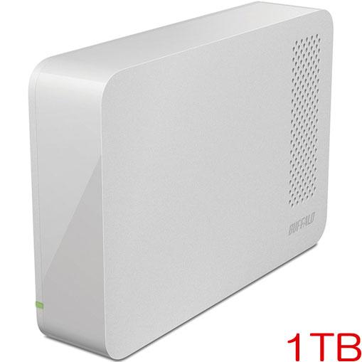 DriveStation HD-LC1.0U3-WHF [USB3.1用 外付HDD 1TB ホワイト]