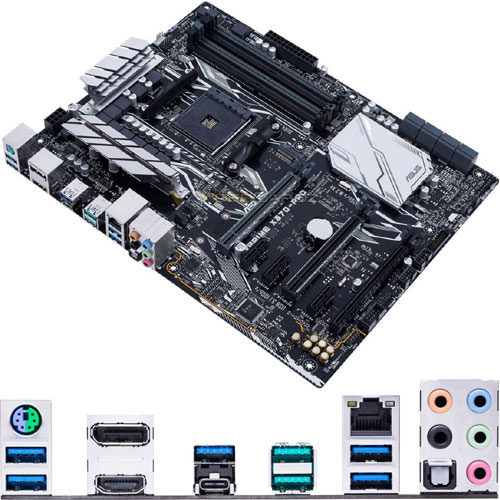 ASUS PRIME X370-PRO [マザーボード AMD X370/Socket AM4/DDR4/USB 3.0 Type-C/ATX]