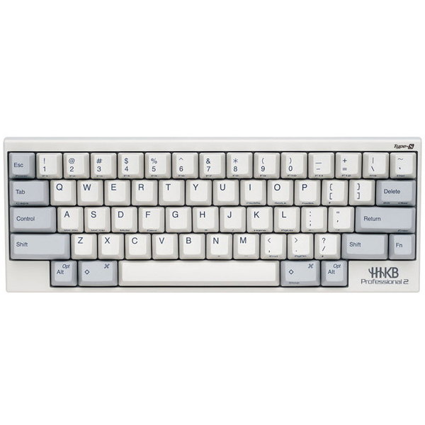 PFU Happy Hacking Keyboard PD-KB400WS [HHKB Pro2 Type-S 英語配列/白]