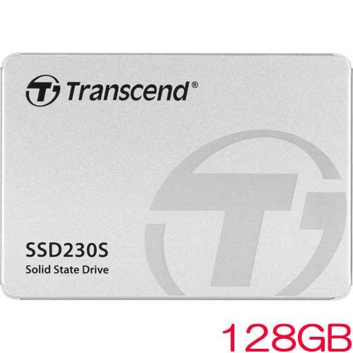 トランセンド TS128GSSD230S [128GB SSD230シリーズ 2.5インチ SATA3 3D TLC搭載 アルミ筐体]