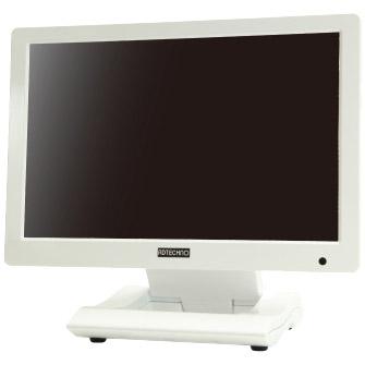 エーディテクノ LCD1015W [HDCP対応10.1型ワイド IPS液晶搭載型モニター 本体色:白]