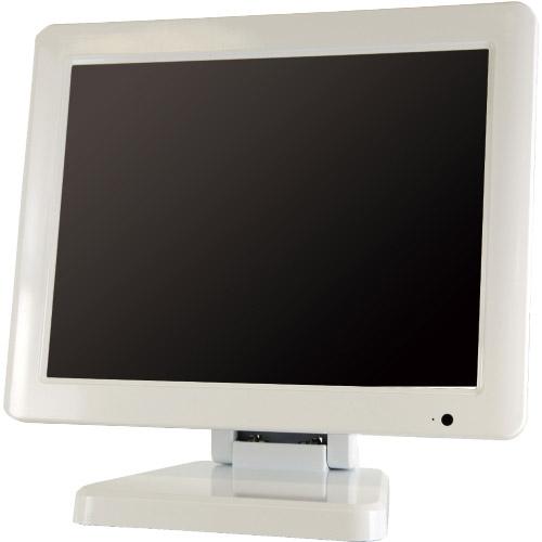 エーディテクノ LCD97W [HDCP対応9.7型 マルチインターフェース搭載IPS液晶モニター 本体色:白]