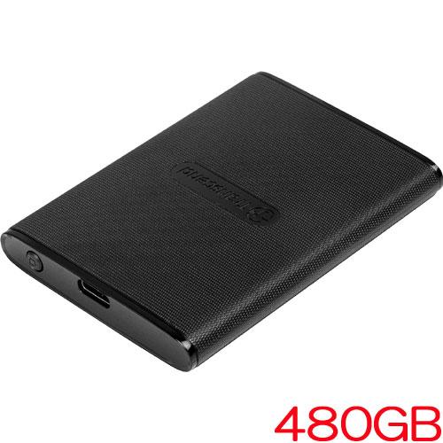 トランセンド TS480GESD220C [ESD220C ポータブルSSD USB 3.0 Type-C 480GB PlayStation4動作確認済]