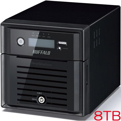 バッファロー TeraStation WSS WS5000N6 WS5200DN08W6 [WSS2016 WE搭載 2ベイ NAS 8TB]