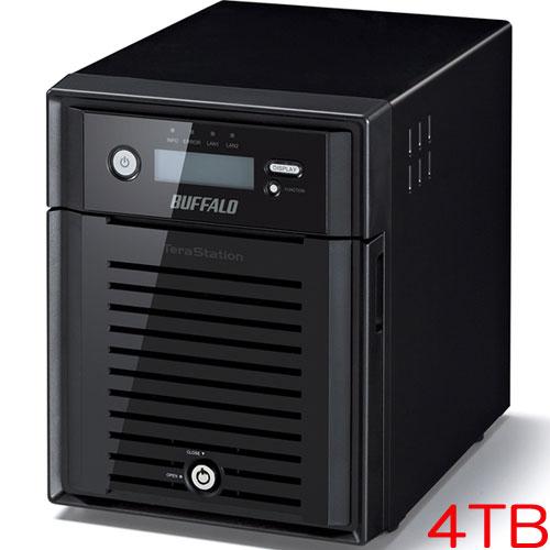 バッファロー TeraStation WSS WS5000N6 WS5400DN04W6 [WSS2016 WE搭載 4ベイ NAS 4TB]
