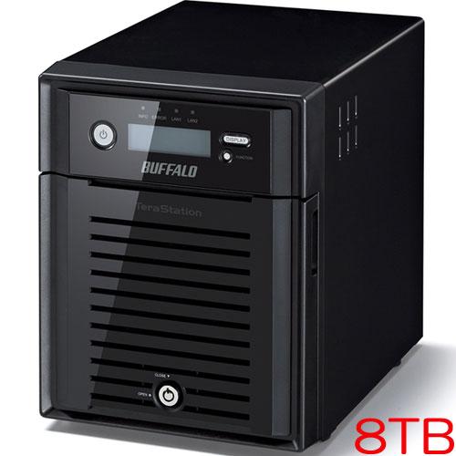 バッファロー TeraStation WSS WS5000N6 WS5400DN08W6 [WSS2016 WE搭載 4ベイ NAS 8TB]