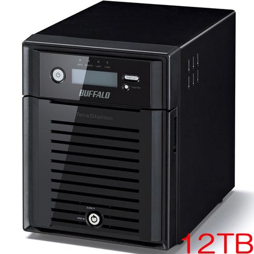 バッファロー TeraStation WSS WS5000N6 WS5400DN12S6 [WSS2016 SE搭載 4ベイ NAS 12TB]