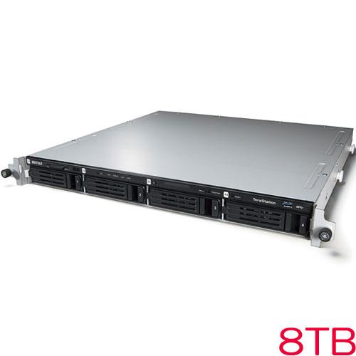 TeraStation WSS WS5000N6 WS5400RN08S6 [WSS2016 SE搭載 4ベイ NAS ラックマウント 8TB]