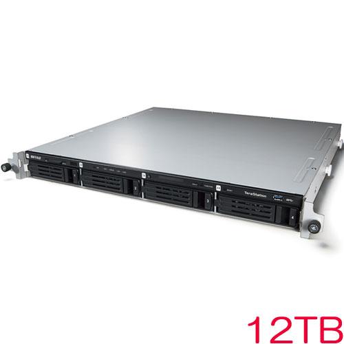 バッファロー TeraStation WSS WS5000N6 WS5400RN12S6 [WSS2016 SE搭載 4ベイ NAS ラックマウント 12TB]
