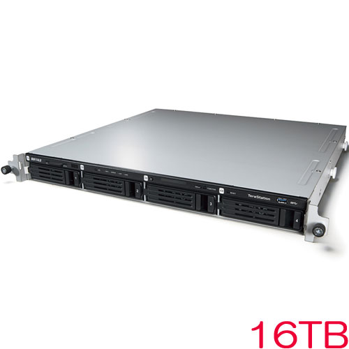 TeraStation WSS WS5000N6 WS5400RN16S6 [WSS2016 SE搭載 4ベイ NAS ラックマウント 16TB]