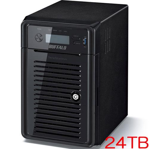 バッファロー TeraStation WSS WS5000N6 WS5600DN24S6 [WSS2016 SE搭載 6ベイ NAS 24TB]