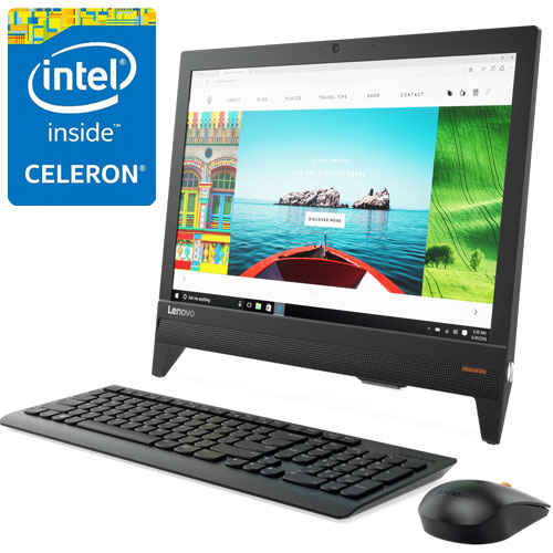 レノボ・ジャパン F0CL005HJP [IdeaCentre AIO310 (CeleronJ3355 4G 500G 19.5 win10 Black)]