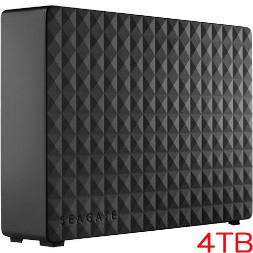 エレコム(Seagate) 1TFAN3 [USB3.0 外付けハードディスク パソコン テレビ録画 家電対応 4TB Expansion Desktop]