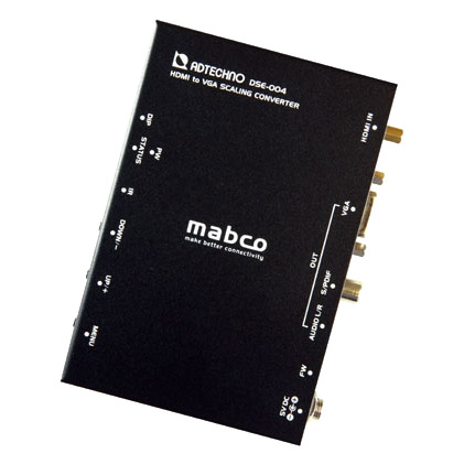 エーディテクノ DSE-004 [業務用スキャンコンバータ HDMI→VGAコンバータ]