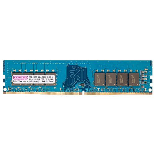 センチュリーマイクロ CD8G-D4U2400 [8GB DDR4-2400 (PC4-19200) Unbuffered DIMM 288pin Dual RANK 512Mx8]