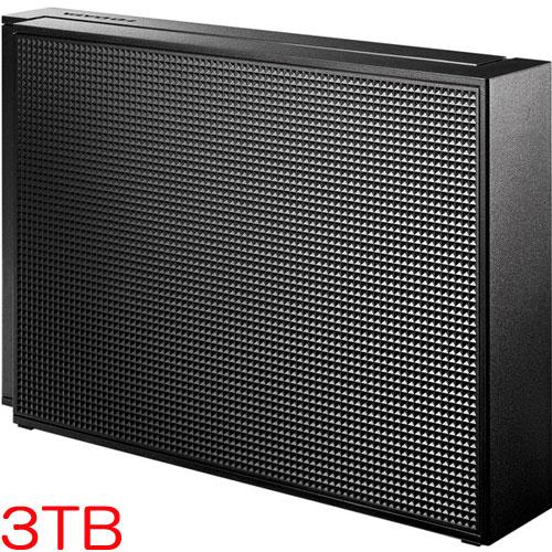 アイオーデータ HDCZ-UT HDCZ-UT3K [USB 3.0/2.0対応 外付ハードディスク 3TB ブラック]