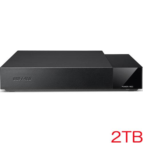 バッファロー HDV-SA2.0U3/VC [24時間連続録画 USB3.1(Gen1) 外付HDD 2TB]