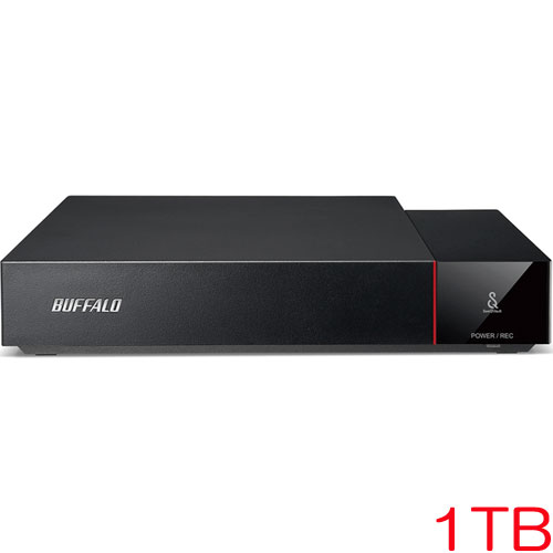 バッファロー HDV-SQ1.0U3/VC [SeeQVault対応 USB3.1(Gen1) 外付HDD 1TB]