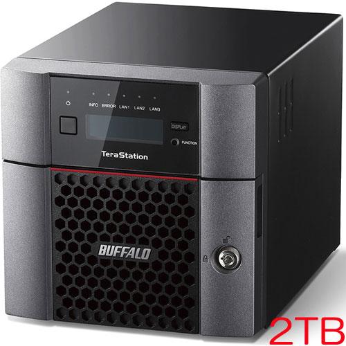 バッファロー TeraStation TS5210DF TS5210DF0202 [TS5210DFシリーズ 2ドライブSSD搭載NAS 2TB]
