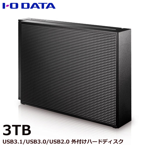 EX-HD3CZ [USB 3.0/2.0対応 外付ハードディスク 3TB ブラック]