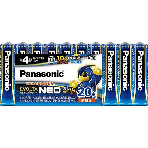 パナソニック EVOLTANEO LR03NJ/20SW [乾電池エボルタネオ 単4形 20本シュリンクパック]