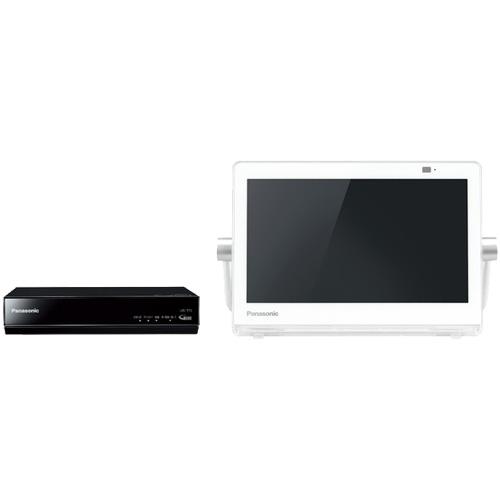 パナソニック プライベートVIERA UN-10T7-W [HDDレコ付 ポータブルデジタルテレビ 10V型 (ホワイト)]