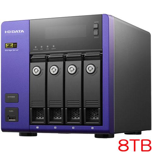 HDL-Z4WP8I [WSS2016Std/Core i3搭載 4ドライブNAS 8TB]