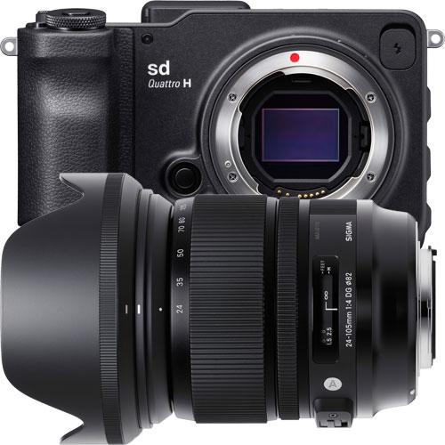 シグマ sd Quattro H & A 24-105mm F4 DG OS HSM kit [sd Quattro H Art 24-105 mm F4 DG OS HSM レンズキット]