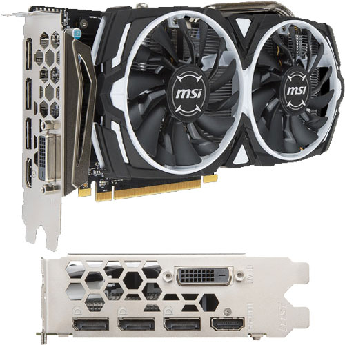 MSI Computer Radeon RX 570 ARMOR 4G OC