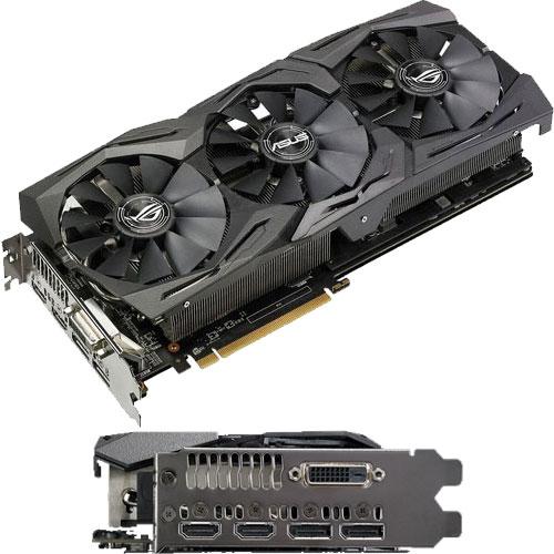 ASUS ROG-STRIX-RX580-O8G-GAMING [R.O.G.シリーズ Radeon RX 580 8GB GDDR5]