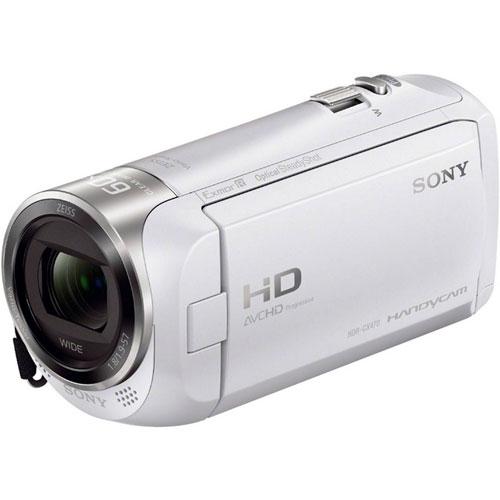 HDハンディカム CX HDR-CX470/W [デジタルHDカム Handycam CX470 ホワイト]