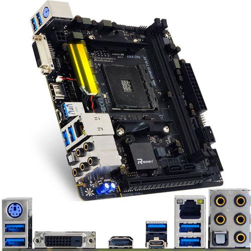BIOSTAR X370GTN [マザーボード AMD X370/Socket AM4/DDR4/USB 3.1 Type-C/Mini ITX]