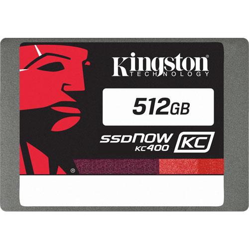 キングストン SKC400S37/512G [512GB SSDNow KC400 SSD (2.5インチ 7mm / SATA 6G / MLC / 5年保証)]