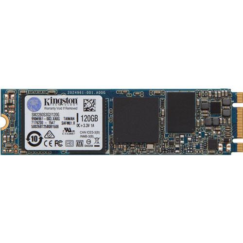 キングストン SM2280S3G2/120G [120GB SSDNow M.2 SATA G2 SSD (M.2(2280) / SATA 6G / MLC / 5年保証)]