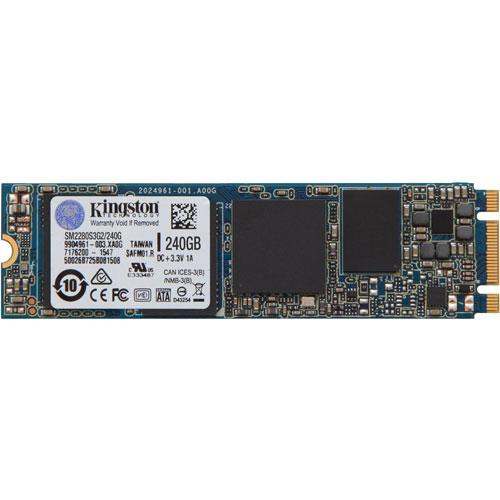 キングストン SM2280S3G2/240G [240GB SSDNow M.2 SATA G2 SSD (M.2(2280) / SATA 6G / MLC / 5年保証)]
