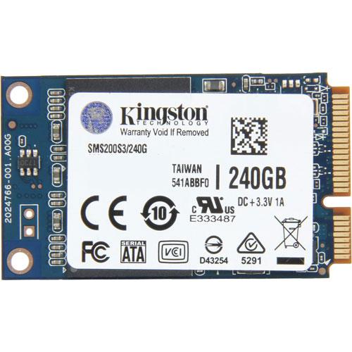 キングストン SMS200S3/240G [240GB SSDNow mS200 SSD (mSATA / SATA 6G / MLC)]