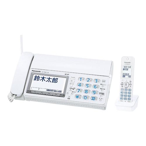 パナソニック おたっくす KX-PD615DL-W [デジタルコードレス普通紙ファクス(子機1台)(ホワイト)]
