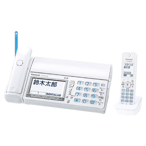 パナソニック おたっくす KX-PD715DL-W [デジタルコードレス普通紙ファクス(子機1台)(ホワイト)]