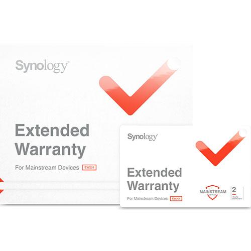 Synology EW201 [メインデバイス用 NAS 2年間 延長保証ライセンス]
