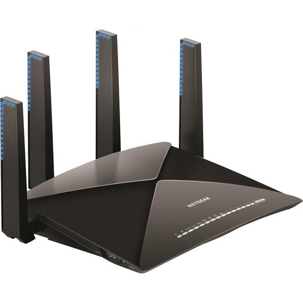 NETGEAR ワイヤレスルーター R9000-100JPS [Nighthawk X10 R9000 11ac/11ad WiFiルーター]