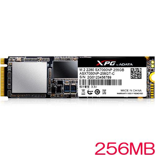 ADATA ASX7000NP-256GT-C [256GB SSD XPG SX7000 M.2 2280 TLC(3D NAND) PCIe Gen3x4]