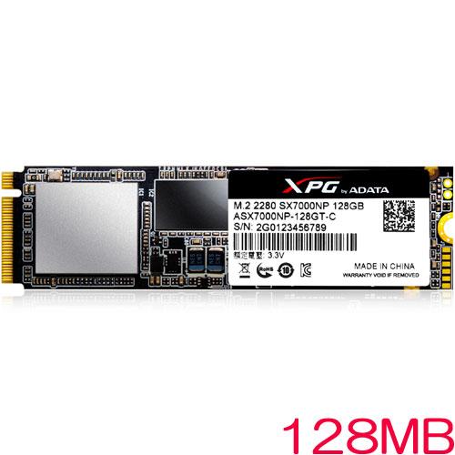 ADATA ASX7000NP-128GT-C [128GB SSD XPG SX7000 M.2 2280 TLC(3D NAND) PCIe Gen3x4]