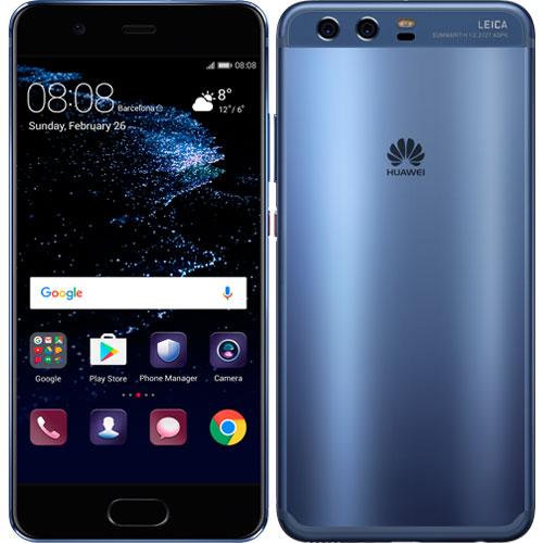 ファーウェイ(Huawei) ★音声SIM申込書付!★P10/VTR-L29B/Dazzling Blue [P10/Dazzling Blue/51091NNF]
