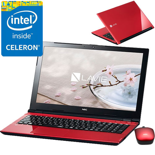NEC PC-SN16CNSAA-1 [LAVIE Smart NS(e)(Cel3855U 4GB 500GB DSM BTM RD)]