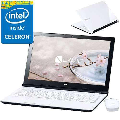NEC PC-SN16CJSAA-1 [LAVIE Smart NS(e)(Cel3855U 4GB 500GB DSM BTM WH)]