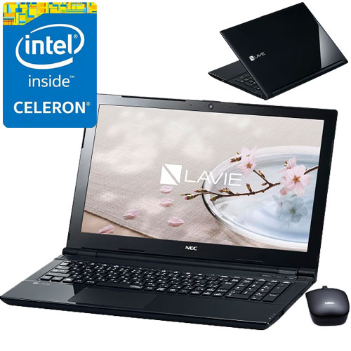 NEC PC-SN16CLSAA-1 [LAVIE Smart NS(e)(Cel3855U 4GB 500GB DSM BTM BK)]