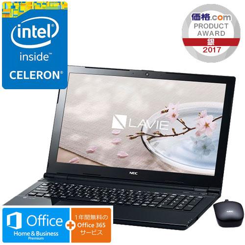 NEC PC-SN16CLSAA-2 [LAVIE Smart NS(e)(Cel3855U 4GB 500GB DSM BTM H&B BK)]